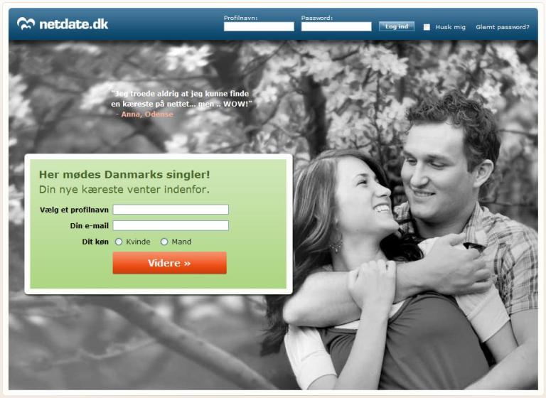 NetDate.dk - Login